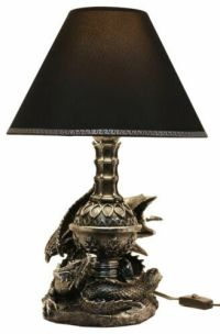 Draco Awakens Sleeping Medieval Dragons Table Lamp Home ...