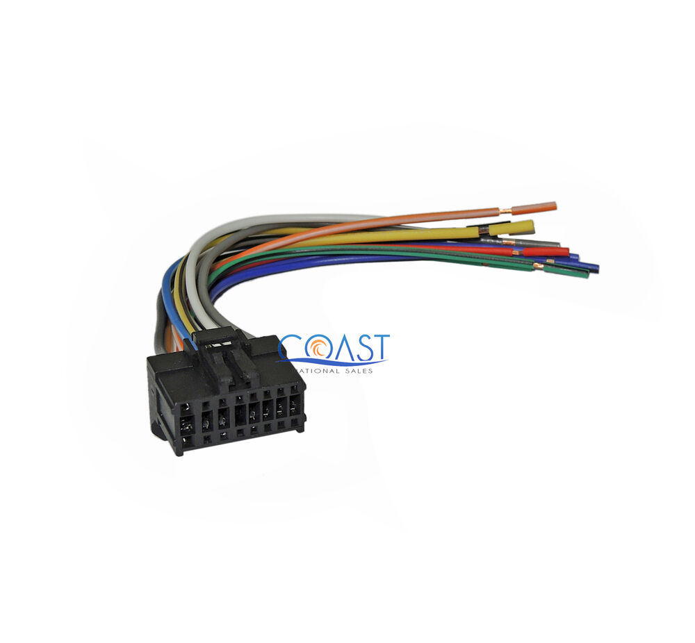 hight resolution of 16 pin replacement wiring harness for 2003 2004 pioneer pioneer car audio wiring harness pioneer car