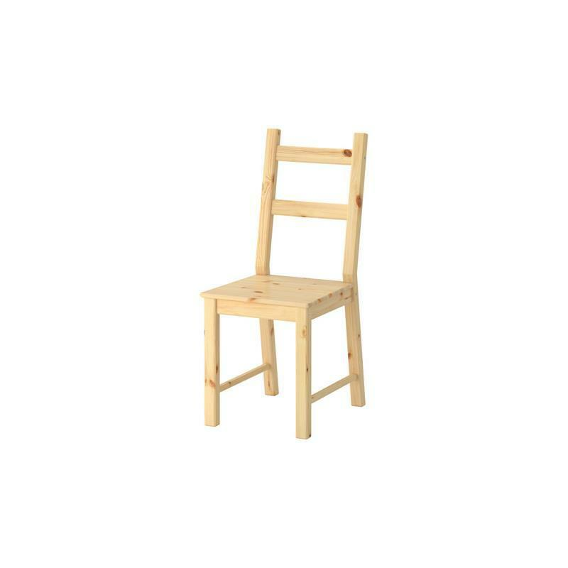 IKEA Chair IVAR Pine solid Kitchen chair Dining room  eBay