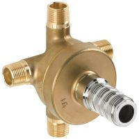 "Delta R11600 Diverter Rough-In Valve, 1/2"" Three-Port Six ..."