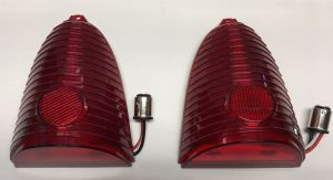 NEW 1955 Chevy CAR 55 Chevrolet LED tail lights RED pr Bel