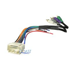 details about amplifier integration radio wire wiring harness for 2002 2006 honda acura rsx [ 1000 x 1000 Pixel ]