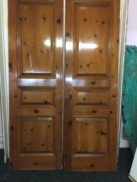 Interior Privacy Doors Closet Doors Solid Wood French ...
