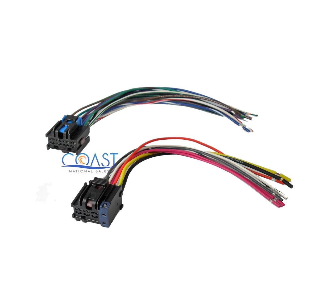 medium resolution of car stereo wiring harness to factory radio for 2005 2010 chevy cobalt stereo wiring diagram chevy