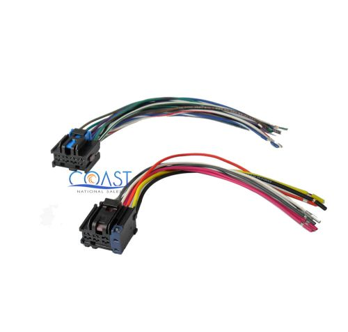 small resolution of car stereo wiring harness to factory radio for 2005 2010 chevy cobalt stereo wiring diagram chevy