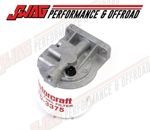 small resolution of oem genuine ford 6 9 7 3 idi diesel fuel filter housing