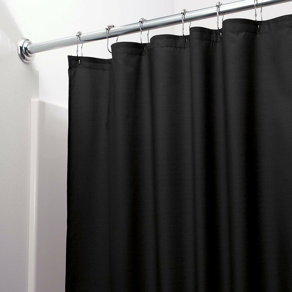 Heavy Duty Magnetized Shower Curtain Liner Mildew