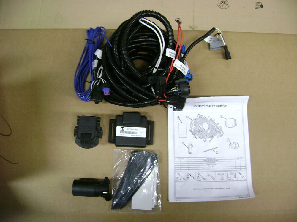 jeep trailer wiring harness kit