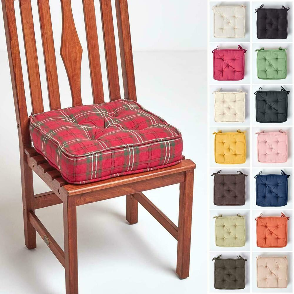 Dining Chair Cushion Kitchen Garden Square Chair Seat Pad