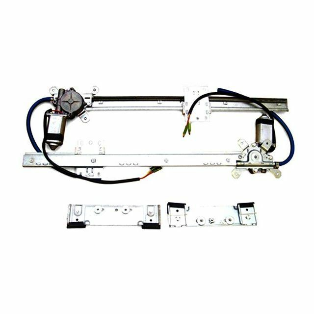 Autoloc 2 Door Flat Power Window Kit U-Wire Driver