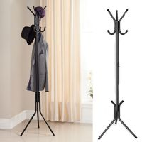 Coat Rack Hat Stand Hanger Metal Hall Tree Hook Holder