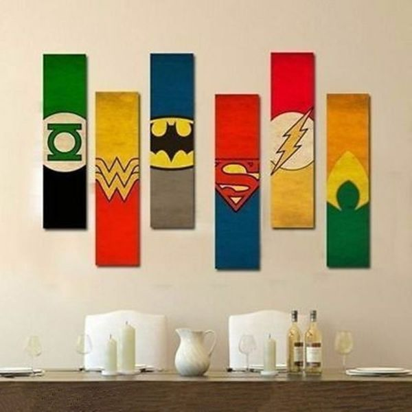 Justice League Wall Canvas