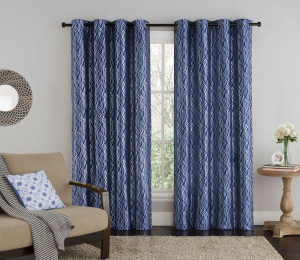 Grommet Window Curtain Panels
