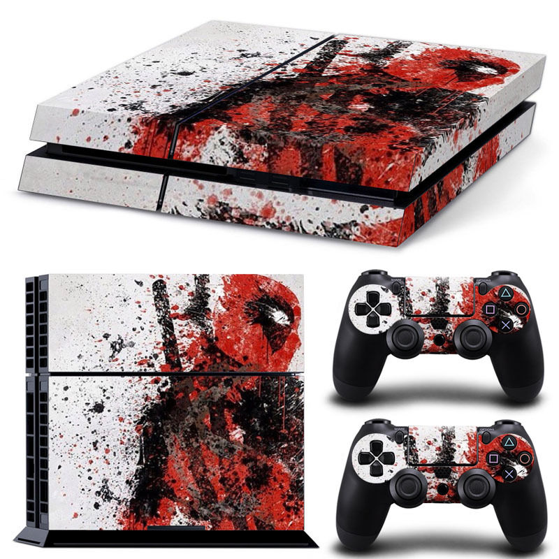 PS4 Skin Amp Controllers Skin Vinyl Sticker For PlayStation