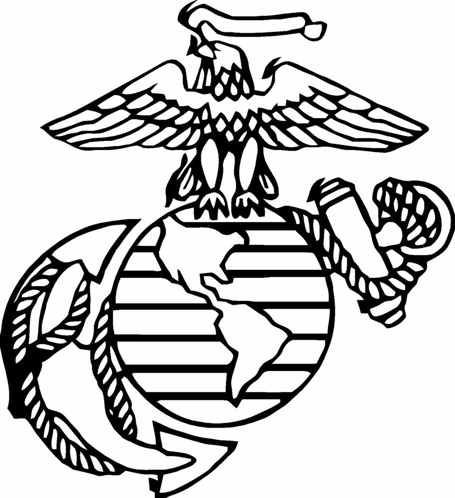 United States Marine Corps Logo Black And White Pictures