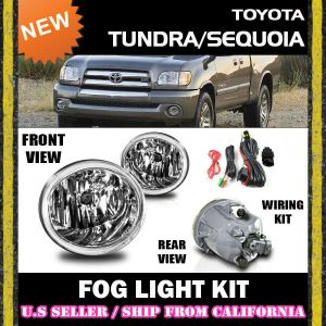 0107 TOYOTA TUNDRA SEQUOIA Fog Lights Driving Lamp Kit w