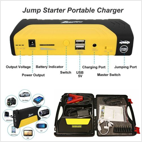 small resolution of 2007 honda accord starter problems jumping starter 1998 honda accord 12v car jump starter 13800mah portable battery power bank
