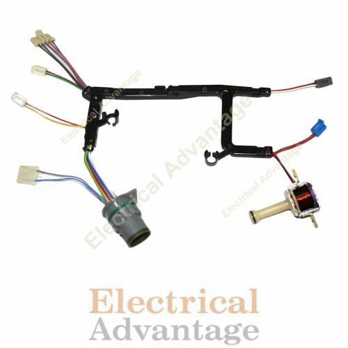 small resolution of details about 4l60e gm transmission internal wire harness with tcc lock up solenoid 1996 2002