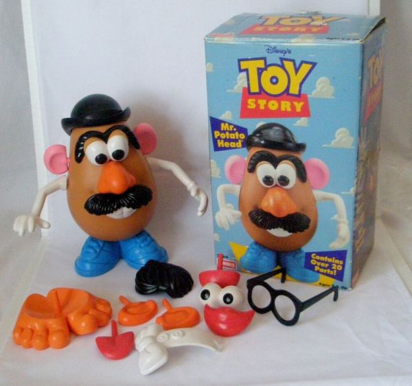 Disney Toy Story Collectible Potato Head 1995 In Orig