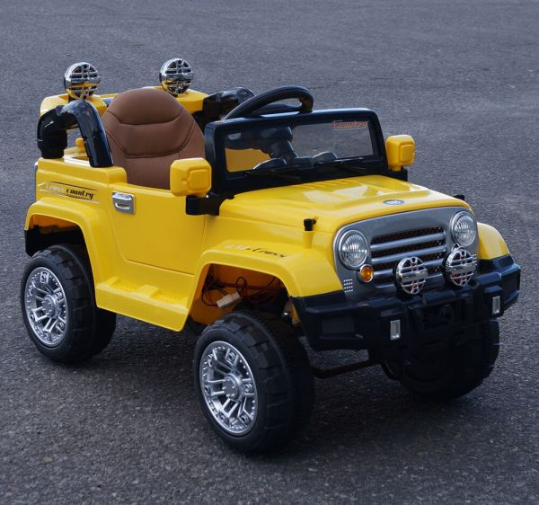 Cars4kids. Ride Car Kids Jeep Style Battery Operated Electric 12v