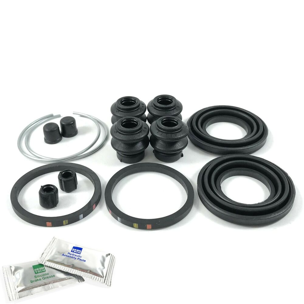2x REAR CALIPER REPAIR KITS SEALS FITS: NISSAN X-TRAIL T30