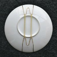 4 6 7 8 10 12 Inch Wall Display Plate Dish Hangers Holder ...