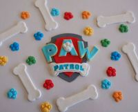 Edible Paw Patrol Toppers KIDS PARTY CAKE DECORATIONS