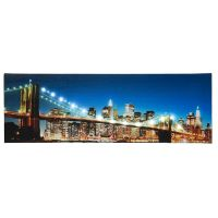 LED Lighted Brooklyn Bridge New York City Skyline Light Up ...