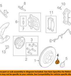details about ford oem 15 18 mustang axle nut fr3z3b477b [ 1000 x 798 Pixel ]