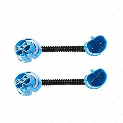 small resolution of details about 9004 9007 hb5 extension wiring harness socket adapter for headlight fog lights