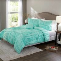 Better Homes and Gardens Basketweave Ruched Bedding ...