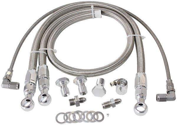 Aeroflow Turbo Oil & Water Feed Line Kit Commodore VL