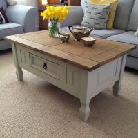 Shabby Chic Solid Pine Coffee Table Farrow & Ball French ...