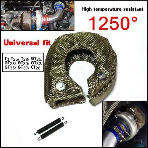 small resolution of t3 titanium turbo blanket heat shield cover barrier turbo charger cover wrap new 4683812419473 ebay