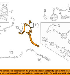 details about toyota oem 99 03 camry power steering pressure hose 4441107030 [ 1000 x 798 Pixel ]