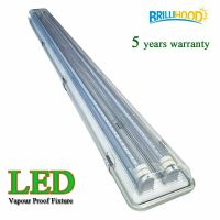 4ft Vapor Proof IP65 LED Garage Fluorescent Light Fixture ...