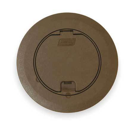 STEEL CITY 68RCSTBRN Floor Box Cover And Carpet Plate
