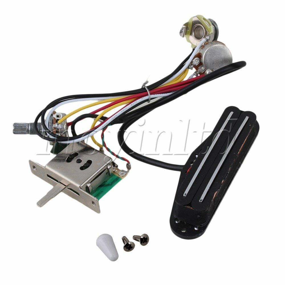 hight resolution of details about circuit wiring harness twin coil pickup humbucker 3 way switch electric guitar