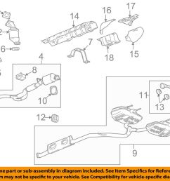 buick gm oem 2010 lacrosse 3 0l v6 catalytic converter v6 engine diagram 1989 pontiac 3 [ 1000 x 798 Pixel ]