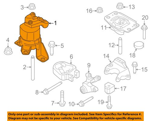 small resolution of details about ford oem 13 16 fusion engine motor mount torque strut dg9z6038h