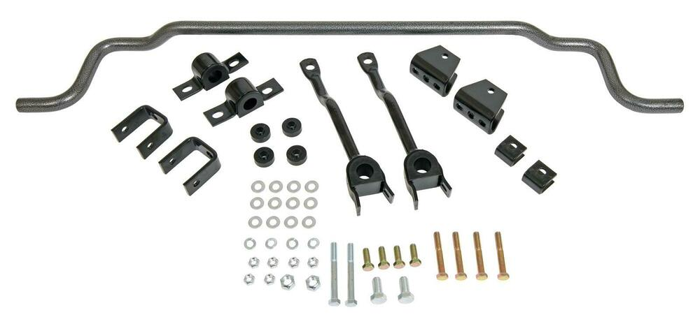 Summit Sway Bar Gray Steel Rear 1 Dia Chevy Pontiac Camaro