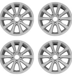 details about bmw 323i 323xi 325i 325xi 328i 2004 2013 17 oem wheels rims set [ 1000 x 1000 Pixel ]