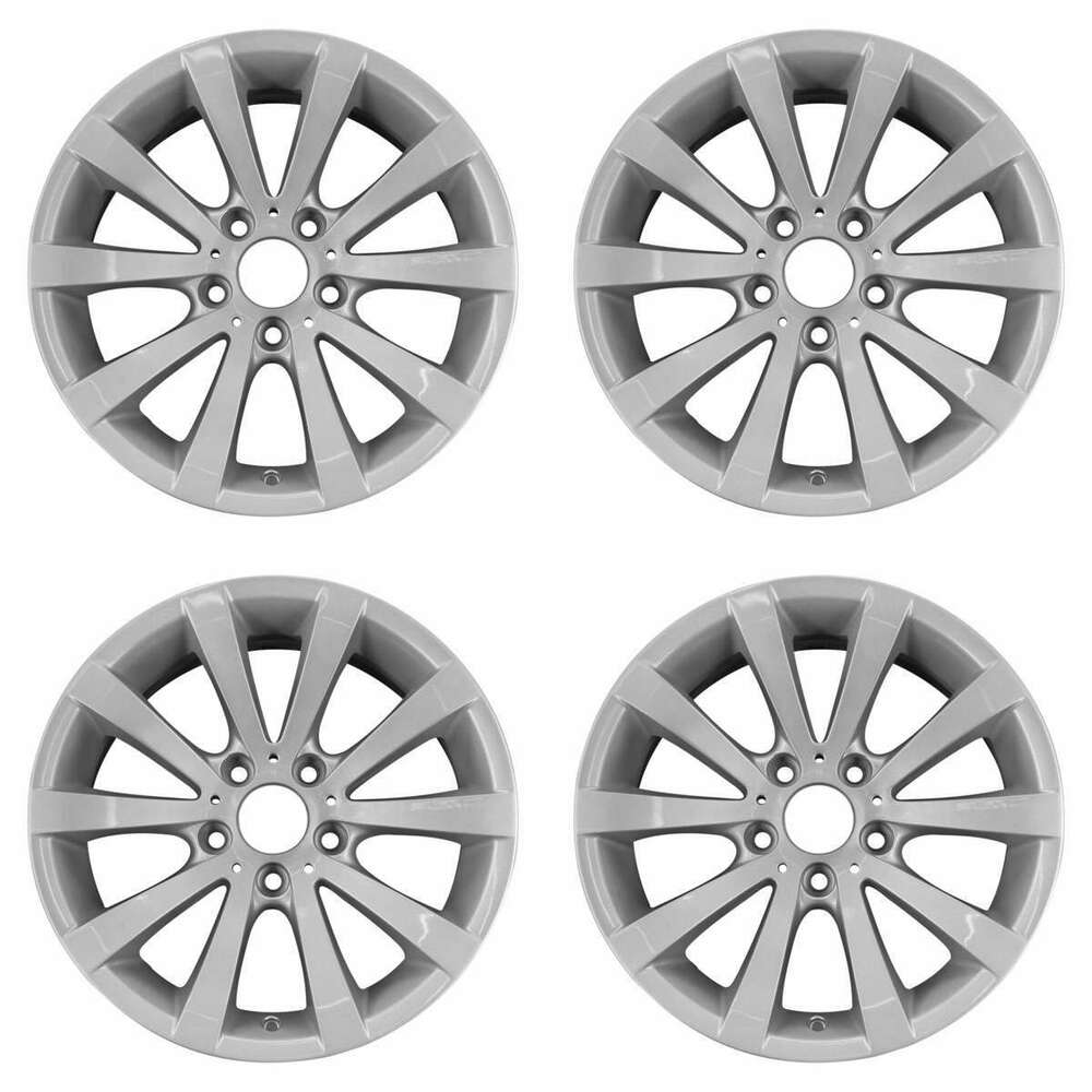 hight resolution of details about bmw 323i 323xi 325i 325xi 328i 2004 2013 17 oem wheels rims set