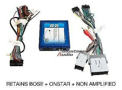 medium resolution of details about gm car stereo radio installation install wiring harness interface bose onstar