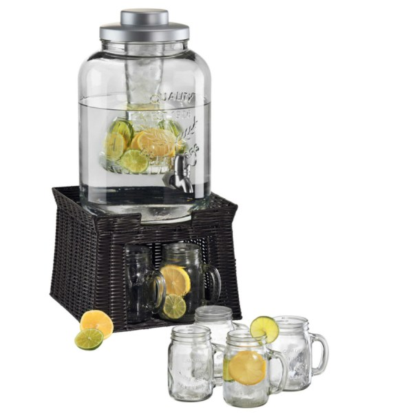 Fruit Infusion 3-gal Beverage Dispenser Water Pitcher