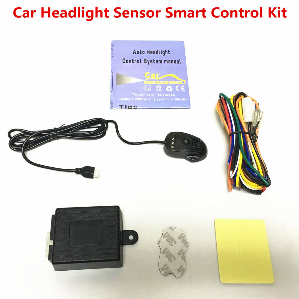 hight resolution of details about car automatic headlight headlamp on off switch light sensor smart control kit