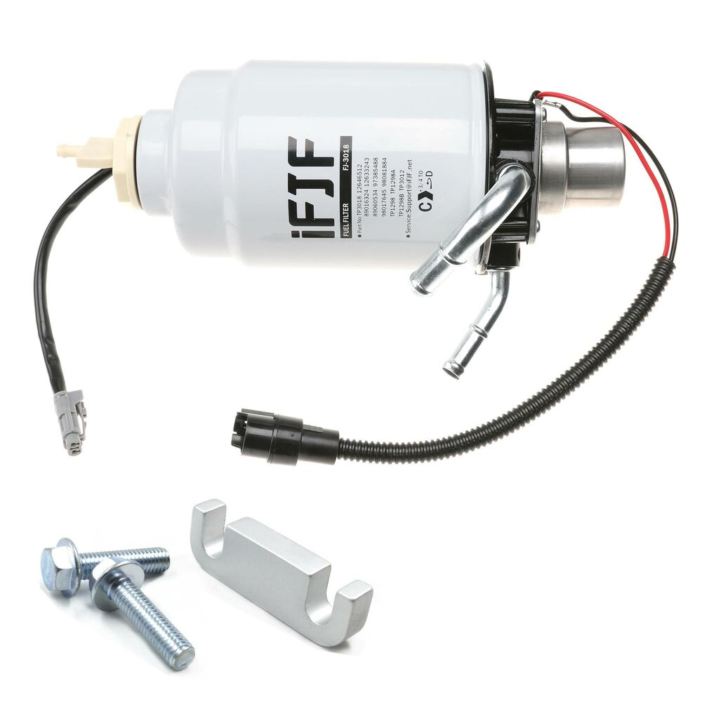hight resolution of details about fuel filter housing gm duramax 6 6l 2004 2013 complete w extras new