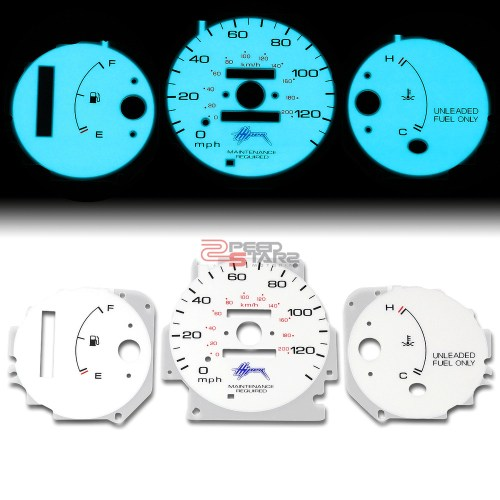 small resolution of details about indiglo glow gauge harness blue face for 96 00 honda civic cx dx lx auto d16y7