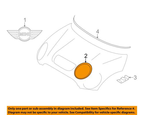 small resolution of details about mini oem 11 16 cooper countryman hood headlamp bezel right 51139813824