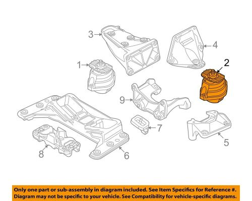 small resolution of details about bmw oem 04 07 525i engine motor mount torque strut 22116761089